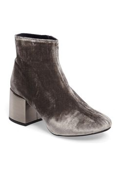 Topshop Mafia Statement Heel Bootie (Women) available at #Nordstrom