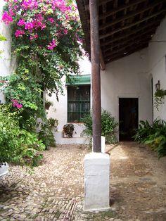Patio de la Bodega del Marqués de San Gil, de Lebrija.