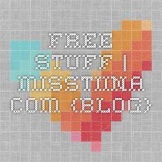 FREE STUFF | MissTiina.com {Blog}