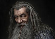 Ian McKellen jako Gandalf Szary w filmowej serii o Hobbicie Ian Mckellen, Gandalf, Game Of Thrones Characters, Fictional Characters