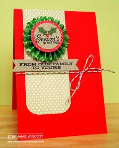 Stamping & Sharing: Christmas Gifts For Teachers