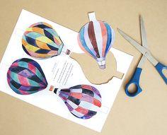 Erin Makai: Printable DIY Air Balloon Garland
