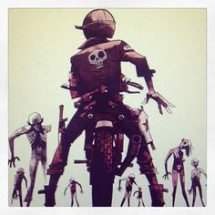 Tank Girl via facebook - Pin by Corb Motorcycles