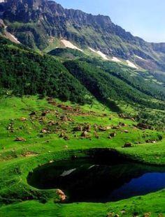Ansoo Lake,Khyber-Pakhtunkhwa ,Pakistan: