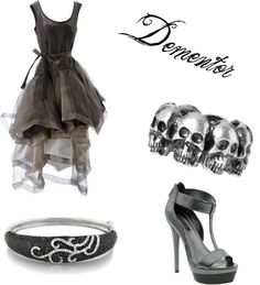 """Dementor Female"" by fandomsfangirl on Polyvore"