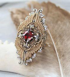 lovely (steamp punk insired) ring