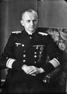 Großadmiral Karl Donitz, Oberbefehlshaber der Kriegsmarine (Commander-in-Chief of the German Navy) Flag Officer, Submarines