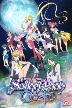 Sailor Moon Crystal, all the Sailor Senshi. Sailor Moon, Sailor Saturn, and Sailor Jupiter Sailor Moon Crystal, Sailor Moon S, Sailor Uranus, Cristal Sailor Moon, Sailor Neptune, Sailor Mars, Sailor Moon Official, Sailor Scouts, Viz Media
