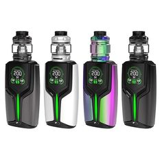 WOTOFO X RIG MOD FLUX 200W & FLOW PRO KIT: A powerhouse collaboration between Wotofo and Rig Mod the FLUX 200W Starter Kit presents a high-performance set-up with a powerful three-mode output device with instant firing speed to pair with the dynamic Flow Pro Sub-Ohm Tank.
