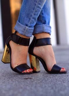 She Thinks Like Me: Block Heels