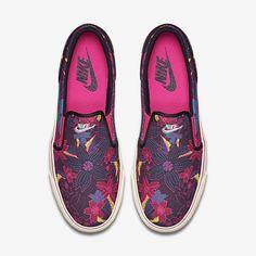 Nike Toki Slip-On Print Canvas Women's Shoe. Nike Store