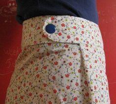 Tuto jupe facile à fermeture adaptable ( si on fait le yoyo avec son poids!)