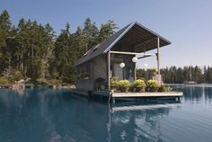 Floating Tiny House - CountryLiving.com