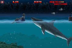 Hungry Shark Night Weird Creatures, Sea Creatures, Shark Games, Great White Shark, Memory Games, Submarines, Itunes, Whale, Beast