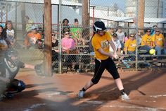 Day 91: My daughter hit a 2 run RBI that knocked in the winning run tonight!