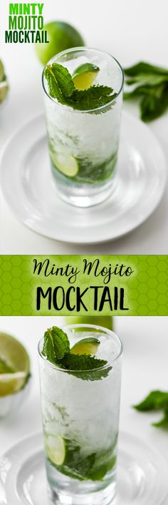 Super simple and refreshing Mojito with OR without rum. Not too sweet -- perfect for a sunny day.