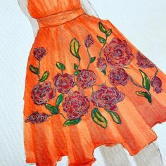 Practice practice practice...cannot get enough of my favourite colour  #orange #fashionillustration #fashionsketch #fashiondesign #designprocess #designer #australiandesigner #ausfashionlabel #londoner #streetstyle #creativeprocess