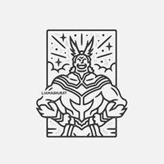 Anime Tattoos, Cool Tattoos, Boku No Hero Academia, Stamp Pad, Line Art, Geek Stuff, Bullet Journal, Ink, Photo And Video