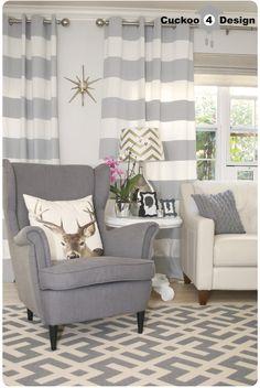 Ikea Strandmon chair plus light couch