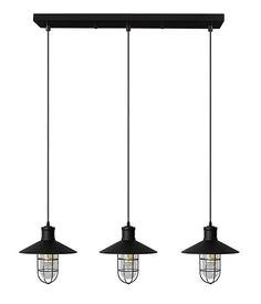 LAMPE SUSPENDUE 3L CHESTER   Code BMR :049-4227