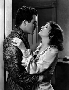 Gilbert Roland and Norma Talmadge in New York Nights, 1929.