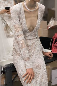Naeem Khan Spring Bridal - The Lane Chanel Wedding Dress, Couture Wedding Gowns, Luxury Wedding Dress, Classic Wedding Dress, Western Wedding Dresses, Princess Wedding Dresses, Bridal Dresses, Naeem Khan Bridal, Unusual Dresses