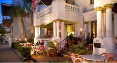 Casablanca Inn St. Augustine Florida. Absolutely love this Bed and Breakfast located near everything downtown!