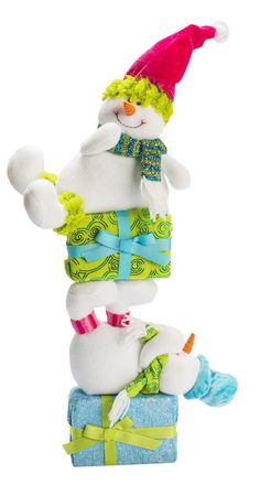 Boneco - Colors 55cm Homen de Neve Sort/ Diagonal. Cód. 1037364