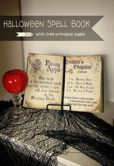 I've been wanting to make a spell book for my Halloween decor for a while now and have seen a lot of great ones on Pinterest. But I wa...