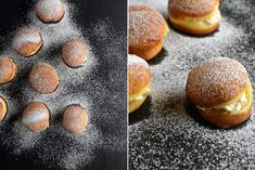 Ricotta filled, orange scented doughnuts recipe from Fisher & Paykel Social Kitchen