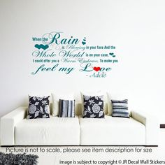 Various Colours /& Sizes Wall Tattoo Sticker Sayings-eating is a desire..