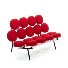 The playful Marshmallow Sofa is a landmark of modern design that's still turning heads and making people smile. http://www.yliving.com/herman-miller-marshmallow-sofa.html