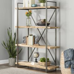 ✔ 35 simple but smart shelves decorations for living room storage ideas 32 Related Living Room Storage, Home Living Room, Living Room Decor, Diy Interior, Interior Design, Decorating Bookshelves, Log Home Decorating, Wood Shelves, Glass Shelves