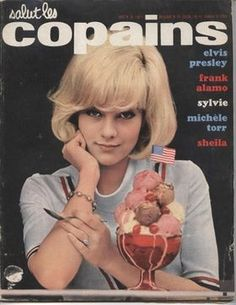 60年代フレンチ・カルチャー誌のキュートな画像集【salut les copains】 - NAVER まとめ