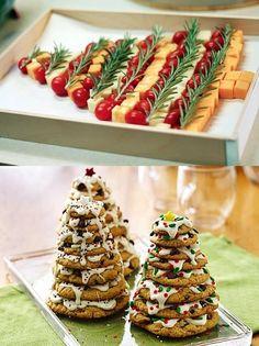 Christmas Tree Food, Xmas Food, Christmas Goodies, Homemade Christmas, Christmas Baking, Christmas Decorations, Holiday Treats, Christmas Treats, Holiday Recipes