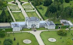 Mansion: Tony Ryan bought Lyons Demesne in Co. Kildare for £3.5million 16 years ago