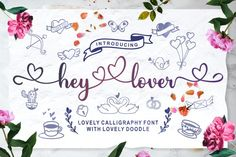 Handwritten Fonts, Calligraphy Fonts, Typography Fonts, All Fonts, Hand Lettering, Cursive Script, Free Font Design, Design Logo, Graphic Design