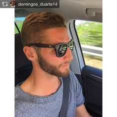 Domingos Duarte a usar o nosso modelo ATACAMA 🕶  Wooden Sunglasses Bamboo Sunglasses Wood Sunglasses
