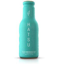 Simple product design in aqua color Pu Erh, Aqua Color, Coral, Pomegranate, Simple Designs, Water Bottle, Product Design, Blue, Mint