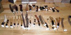 Handmade tools by Dan Essig