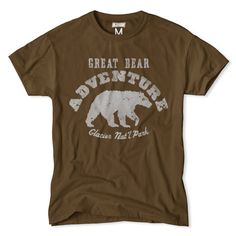 Great Bear-Glacier National Park Tee