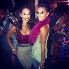 The L.A. Basketball Wives Gloria and Laura Govan