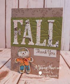 Fall Thank You Scarecrow
