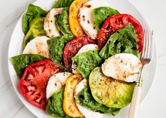 Caprese Salad: http://www.stylemepretty.com/living/2015/05/06/11-fresh-spring-salads/