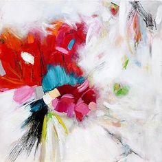 As I search for inner peace, I juxtapose soft strokes of muted colors with energetic vibrant hues, to create soft, yet powerful, paintings that are filled with light and subtle flows.