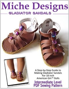 Freebie Friday 6-5-15 Miche Designs Gladiator Sandals