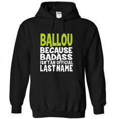 nice BALLOU Tshirt, Its a BALLOU thing you wouldnt understand