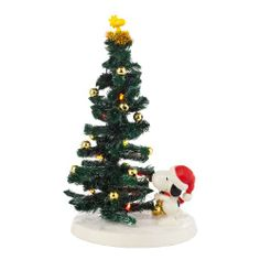 department 56 peanuts snoopy lights up the tree figurine peanuts christmas charlie brown christmas - Department 56 Peanuts Christmas