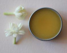 Fleurish Solid Natural Perfume in Round Tin