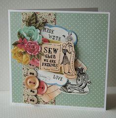 Sew glad - needle and thread